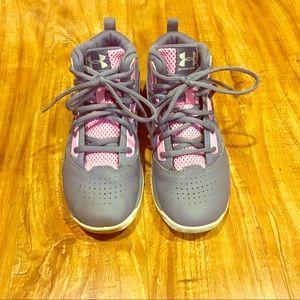Girl's Under Armor Basketball Sneakers